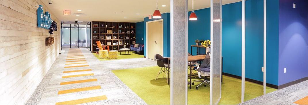 طراحی فضای اداری انعطاف پذیر