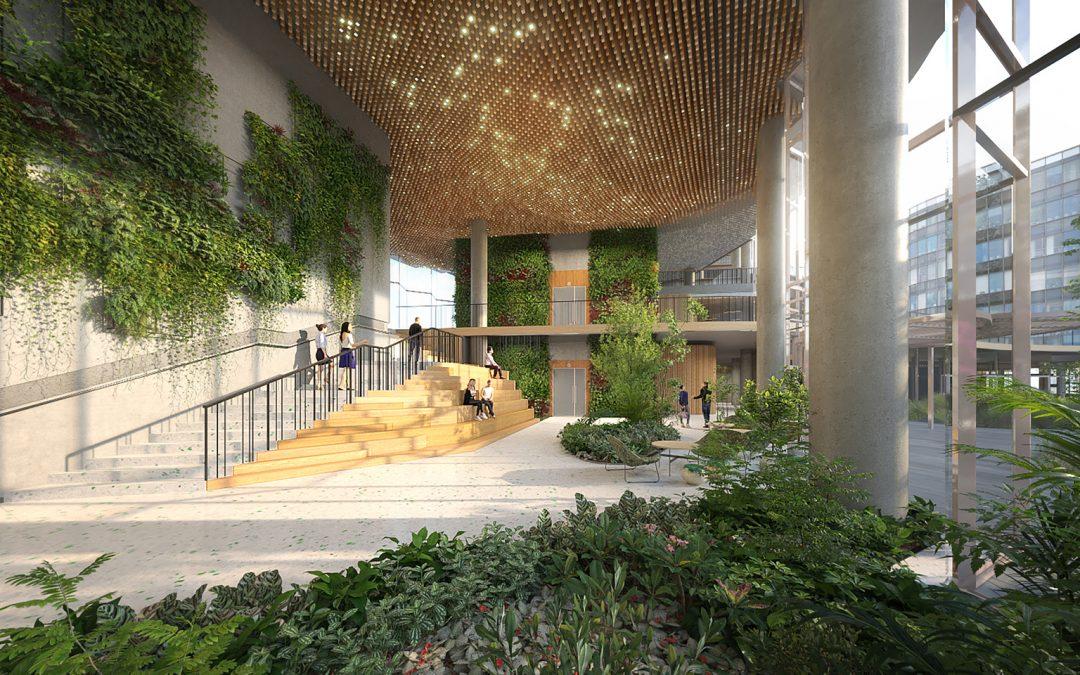 طراحی داخلی دفاتر ساختمان اداری