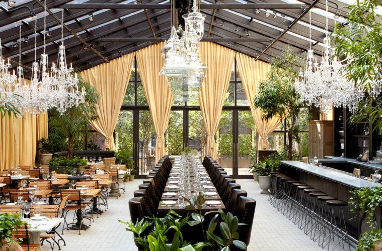 طراحی داخلی دکوراسیون رستوران