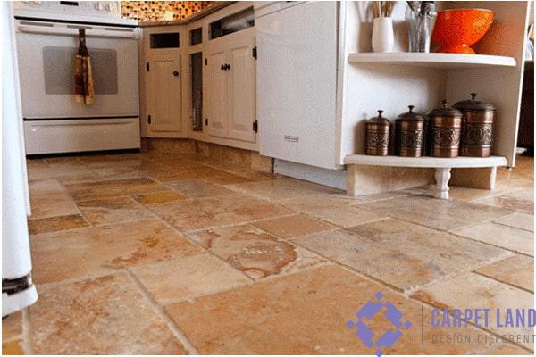 سنگ طبیعی بهترین کفپوش آشپزخانه
