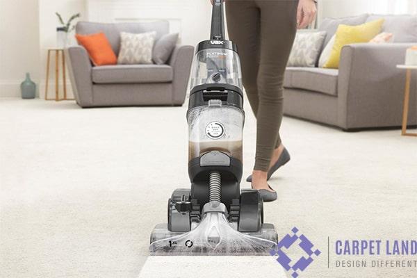 تمیز کردن فرش ماشینی