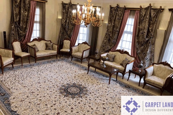 روش انداختن فرش در منزل